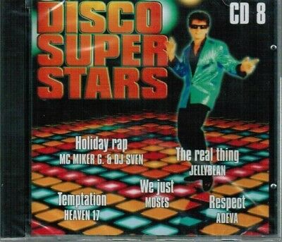 Disco Super Stars 5-CD's NEW KC & Sunshine Band Sylvers Rockwell 75 Songs NEW