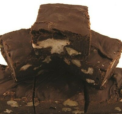Rocky Road Fudge smooth creamy 6 pound loaf