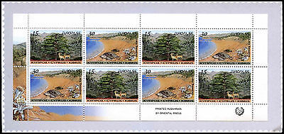 Cyprus 1999 SG#SB2, Europa Parks And Gardens Stamp Booklet MNH #C37103