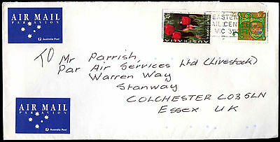 Australia 1990's Commercial Airmail Cover To UK #C36707