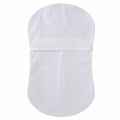 Halo Innovations Bassinest Fitted Sheet White 0-5 Months , Free Shipping