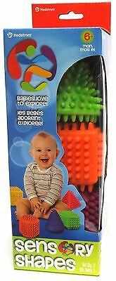 Ball Bounce and Sport Toys Sensory Shapes 3-Pack , Free Shipping