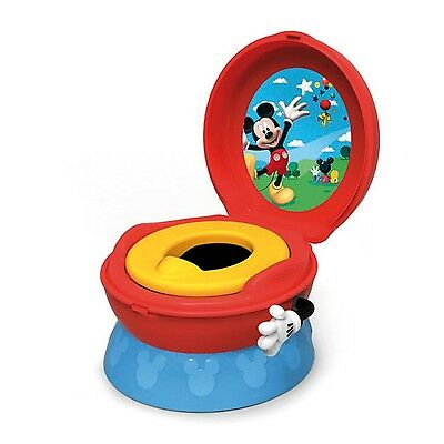 The First Years 3-In-1 Potty System Mickey Mouse , Free Shipping