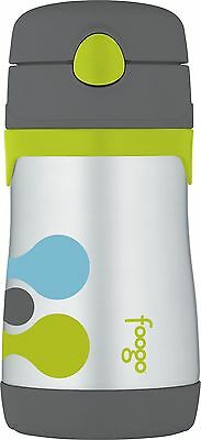 THERMOS FOOGO Vacuum Insulated Stainless Steel 10-Ounce Straw... , Free Shipping