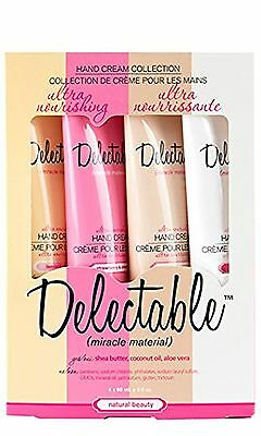 Delectable by Cake Beauty Assorted Hand Cream Gift Set 8 , Free Shipping