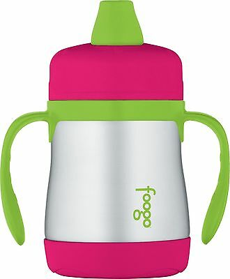 THERMOS Foogo Vacuum Insulated Stainless Steel Soft Spout Sip... , Free Shipping