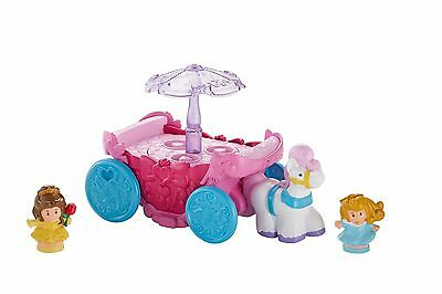 Fisher-Price Little People Disney Princess Carousel Carriage , Free Shipping