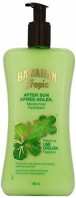 Hawaiian Tropic Lime Coolada Aftersun Moisturizer 480ml , Free Shipping