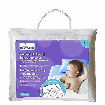 Baby Works Waterproof Sheet Protector , Free Shipping