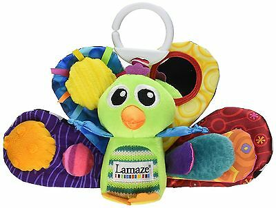 Lamaze  Play and Grow Jacques the Peacock Take Along Toy , Free Shipping