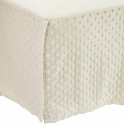 American Baby Company 170SS-EC Heavenly Soft Crib Bed Skirt (... , Free Shipping