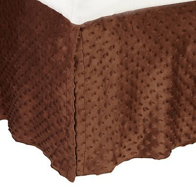 American Baby Company 170SS-CH Heavenly Soft Crib Bed Skirt (... , Free Shipping