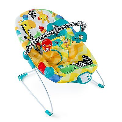 Bright Starts Safari Smiles Bouncer , Free Shipping