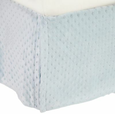 American Baby Company 170SS-BL Heavenly Soft Crib Bed Skirt (... , Free Shipping