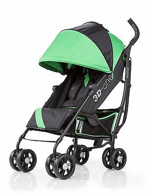 Summer Infant 3D One Convenience Stroller Brilliant Green , Free Shipping