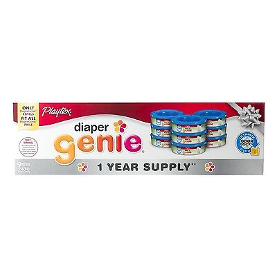 Diaper Genie Disposal System Refill 1 Year Supply (9-Pack) , Free Shipping