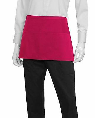 Chef Works F9-BER-0 Waist Apron Berry , Free Shipping