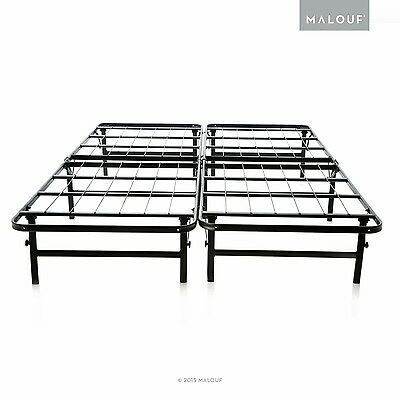 MALOUF Structures HIGHRISE LT Foldable Bed Base Platform Bed ... , Free Shipping