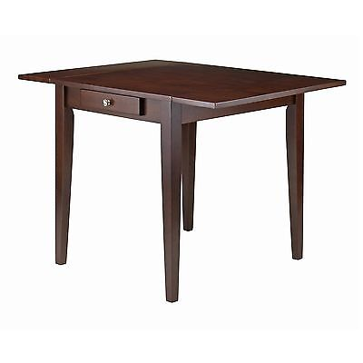 Winsome Wood Hamilton Double Drop Leaf Dining Table , Free Shipping