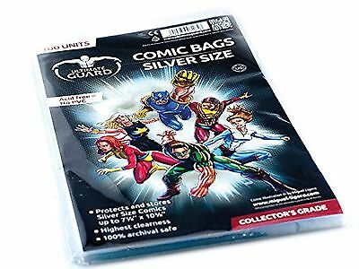 Ultimate Guard Silver Comic Bags , Free Shipping