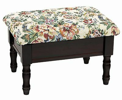 Frenchi Home Furnishing Footstool with Storage Cherry , Free Shipping