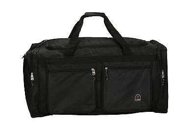 Rockland All Access Large Lightweight Cargo Duffel Bag Black ... , Free Shipping