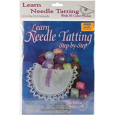 Handy Hands Learn Needle Tatting Step by Step Kit , Free Shipping