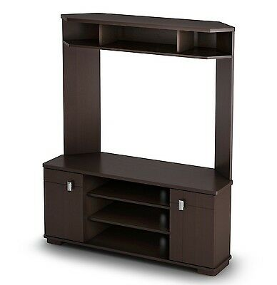 South Shore Furniture Vertex Collection TV Stand Chocolate , Free Shipping