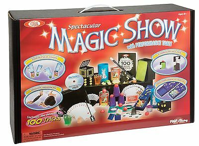 Ideal 100-Trick Spectacular Magic Show Suitcase , Free Shipping