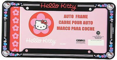 Chroma 6004 Hello Kitty Glitter License Plate Plastic Frame , Free Shipping