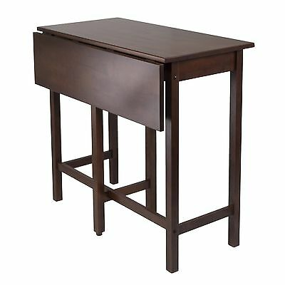 Winsome Wood Lynnwood Drop Leaf High Table , Free Shipping