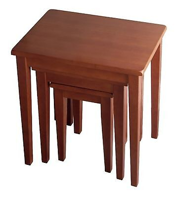 Winsome Wood Nesting Table Walnut , Free Shipping