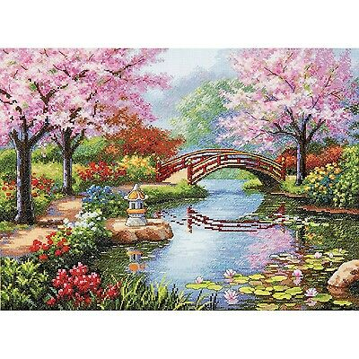 Dimensions Crafts 70-35313 Japanese Garden Counted Cross Stit... , Free Shipping