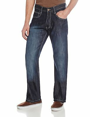 Southpole Men's 4180 Relaxed Fit Shiny Streaky In Dark Blue S... , Free Shipping