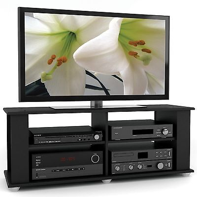 Sonax FS-3480 Fillmore TV Component Stand Midnight Black 48-I... , Free Shipping