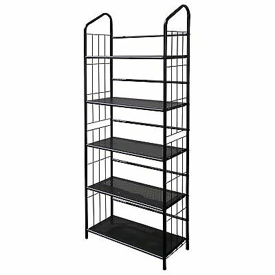 Ore International R597-5 Five Tier Metal Book Rack , Free Shipping