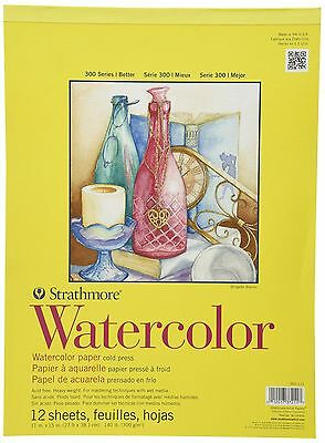 Pro-Art Strathmore 11-Inch by 15-Inch Watercolor Cold Press P... , Free Shipping