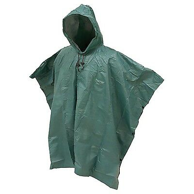 Frogg Toggs Outer Ware Adult Ponchos Dark Green One Size , Free Shipping