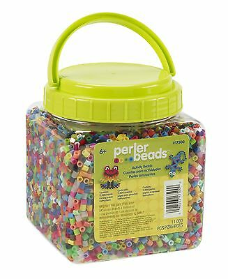 Perler Beads 11000 Count-Multi-Mix , Free Shipping