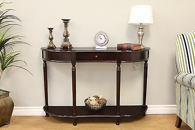 Frenchi Home Furnishing Console Sofa Table with Drawer Expresso , Free Shipping
