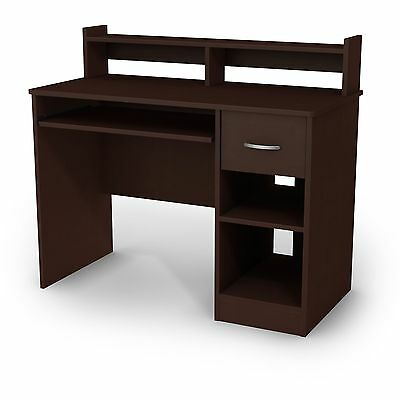 South Shore Furniture Axess Collection Desk Chocolate , Free Shipping