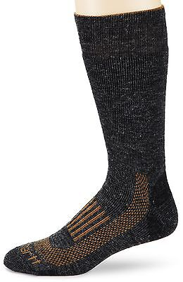 Carhartt Men's Triple Blend Thermal Crew Sock Charcoal Large , Free Shipping