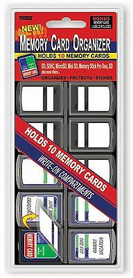Pioneer Photo Albums 10 Compartment Memory Card Organizer , Free Shipping