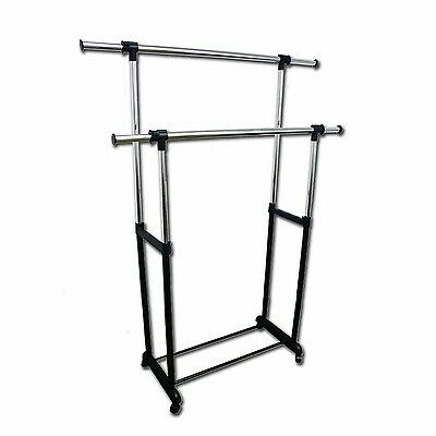 Ore International Double Levers Clothes Rack , Free Shipping