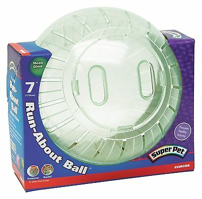 Kaytee Super Pet Run-About 7-Inch Hamster Exercise Ball Moon ... , Free Shipping