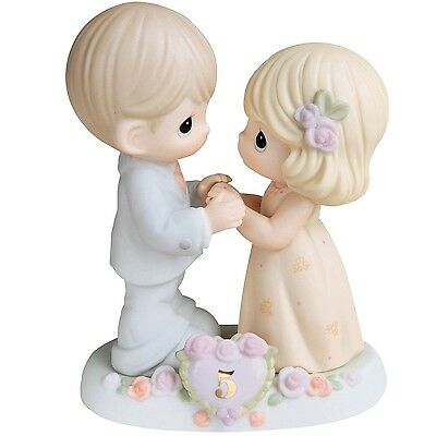 """Precious Moments """"I Fall In Love With You More Each Day"""" Figu... , Free Shipping"""