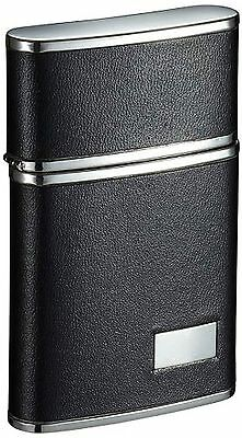 "Visol ""Flip Top"" Leather Stainless Steel Hip Flask 2.5-Ounce ... , Free Shipping"