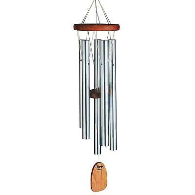 Woodstock Chimes of Bali Windchime Silver New