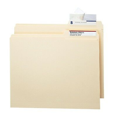Smead Seal and View File Folder Label Protector 3-1/2x1-11/16-Inches Clea... New
