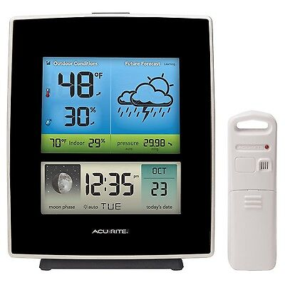 AcuRite 02030RM Weather Station with Forecast/Temperature/Humidity/Moon P... New